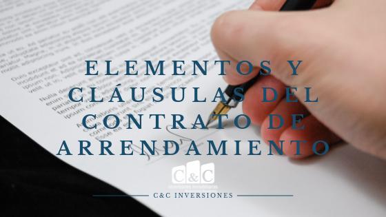 Elementos y cláusulas del contrato de arrendamiento